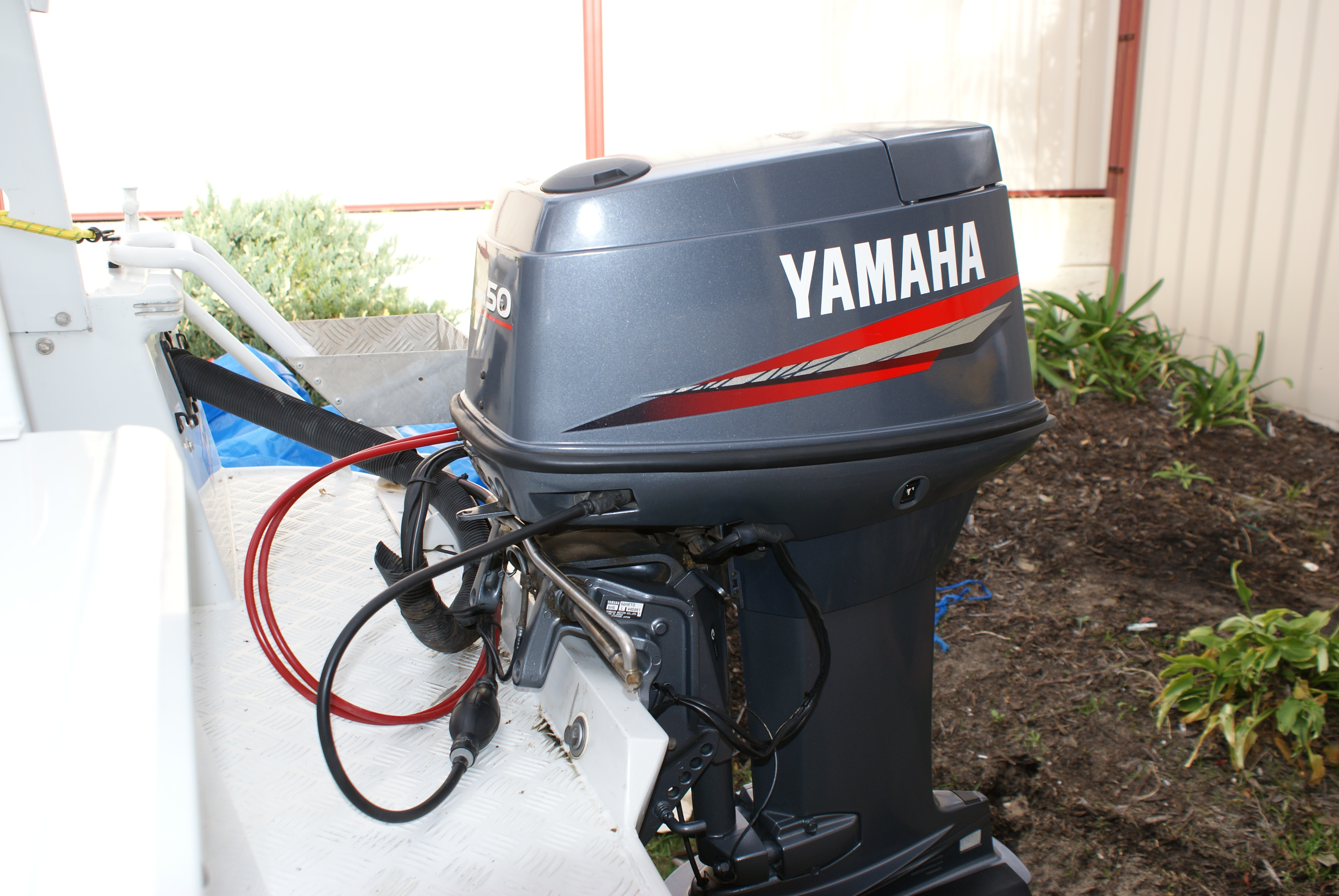 Outboard motors broadwater marine autos post for Yamaha 100 hp outboard for sale