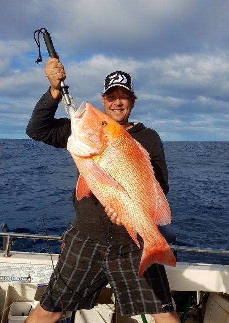 Nice day in coral bay .pb red