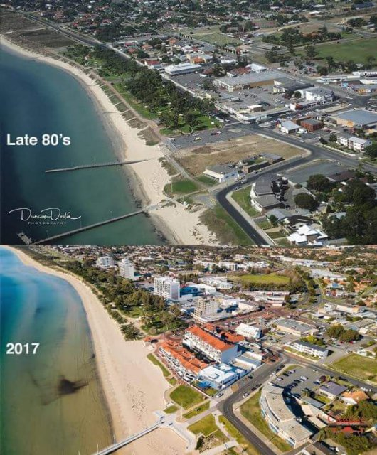Rockingham then and now