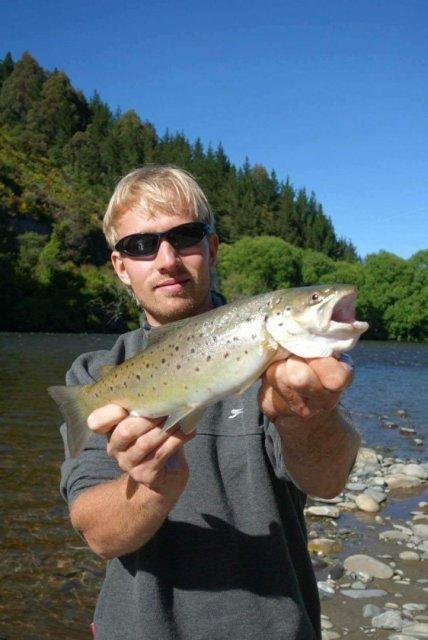 Little Luke trout