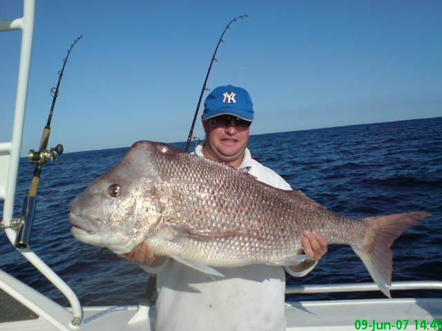 monster 116cm pinky in 41m off mindarie (the beast!!) came across it again in Random images so ill edit it again for a look!