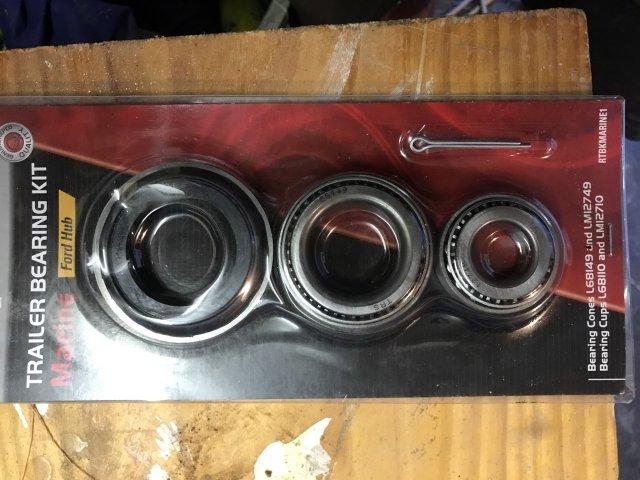 Trailer bearings x 2