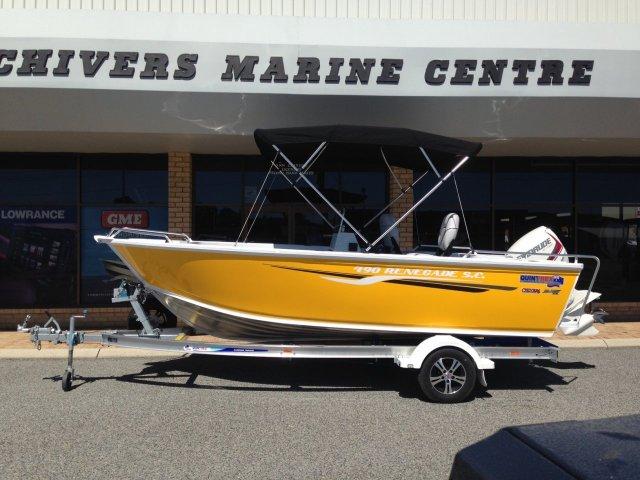Chiver Marine Quintrex 490 Renegade Special