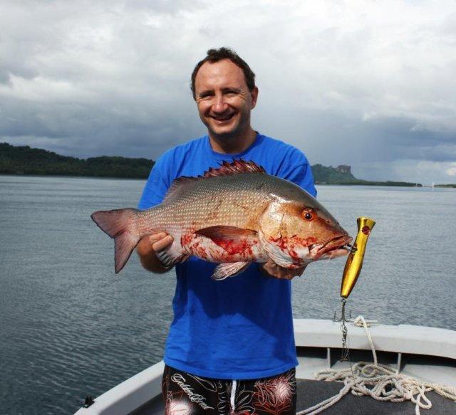 Pohnpei red bass fishing fishing wa for Bass fishing washington