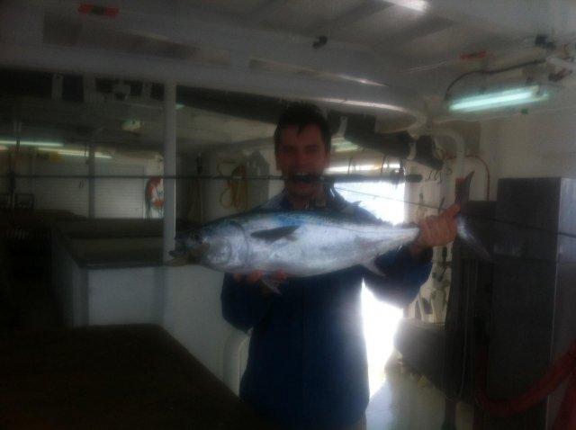 Fun mack tuna on the light gear