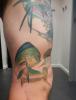 Tattoo addition to sailfish.  Dollie