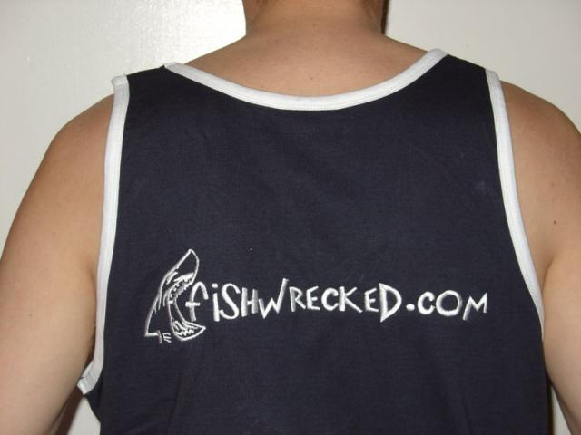 Fishwrecked Tanktop - Back